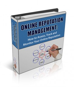 [New PLR Package] Online Reputation Management