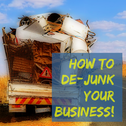 [New PLR] How to De-Junk Your Business – Take Control, Get Organized, Get it all Done!