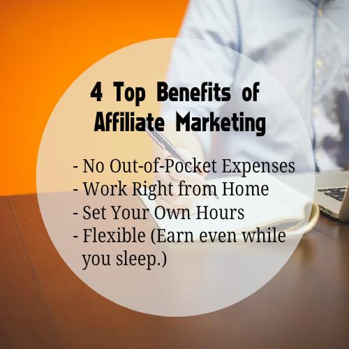 affiliate marketing benefits