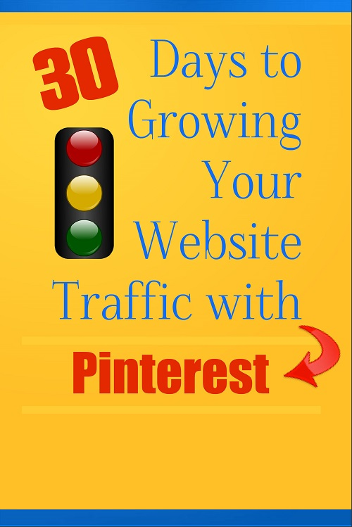 New PLR:  30 Days to Growing Your Website Traffic with Pinterest