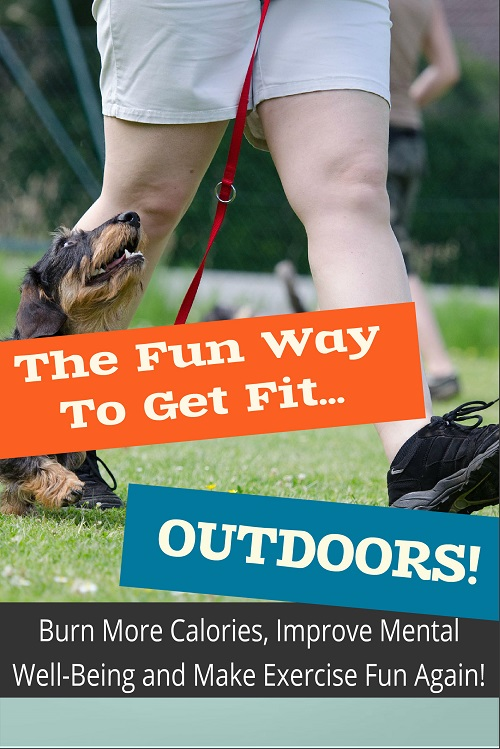 New Fitness PLR Ebook:  The Fun Way to Get Fit Outdoors