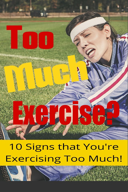 New Fitness PLR:  Too Much Exercise?
