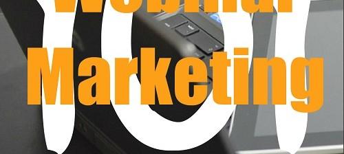 Webinar Marketing 101