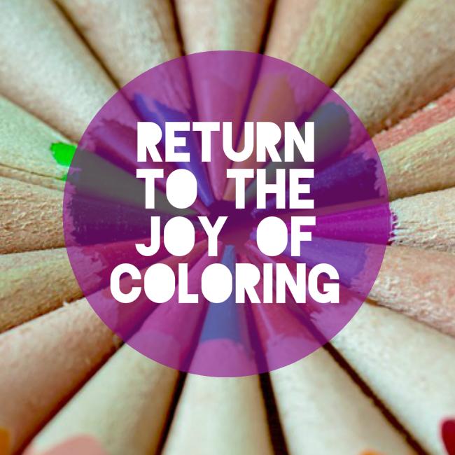 Joy of coloring
