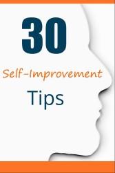Free PLR: 30 Self-Improvement Tips