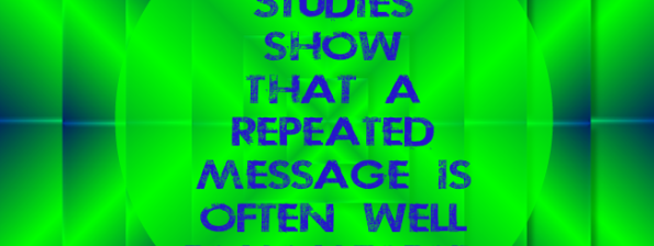 Repeated Messages