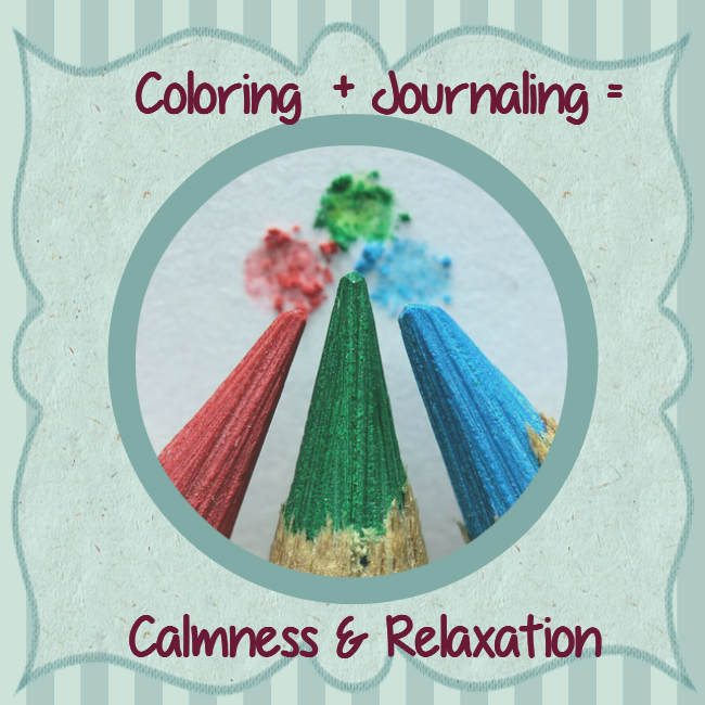 Coloring and Journaling