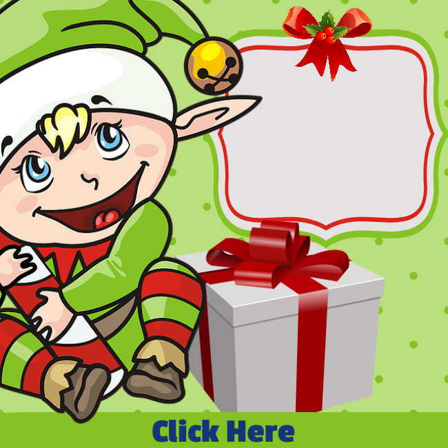 Elf Holiday Sale - FREE PLR Image