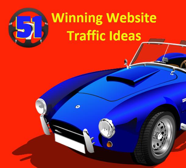 Website Traffic PLR Report: 51 Winning Website Traffic Ideas