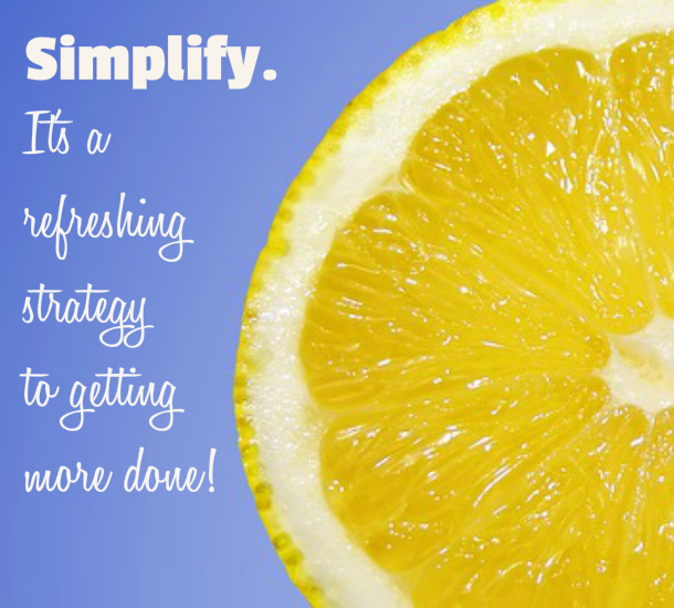 Simplify strategy - Time Management PLR Images
