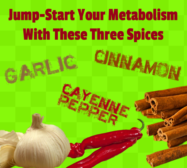 Jumpstart Metabolism 3 Spices