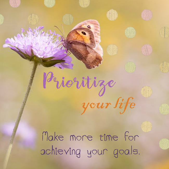 Prioritize your life – PLR Bundle