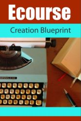 New PLR Workshop: Ecourse Creation Blueprint