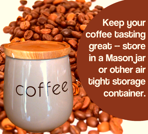 coffee PLR image