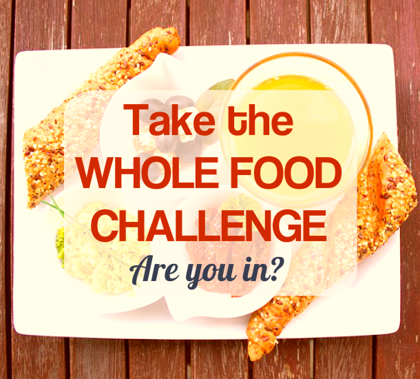 PLR Health Content: 30 Day Whole Food Challenge