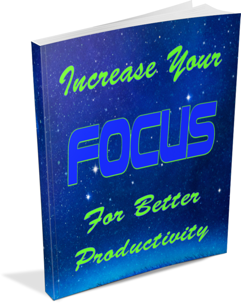 productivity PLR - increase your focus ecover image