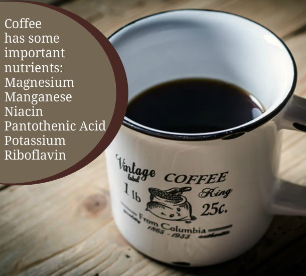 coffee plr content - coffee health benefts image