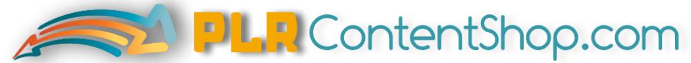 PLR Content Shop