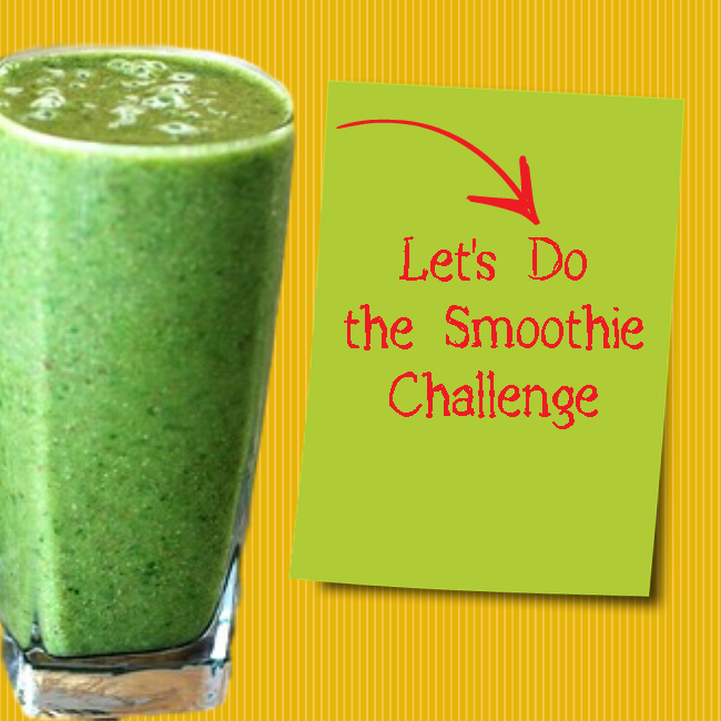 eat healthy PLR - green smoothies challenge image