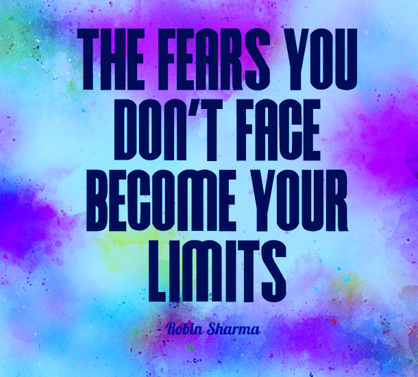 website bundle offer - Quote on facing your fears