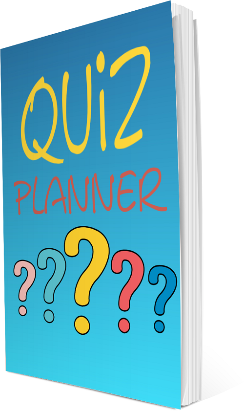 Quiz Planner Grow Your List Make Money PLR