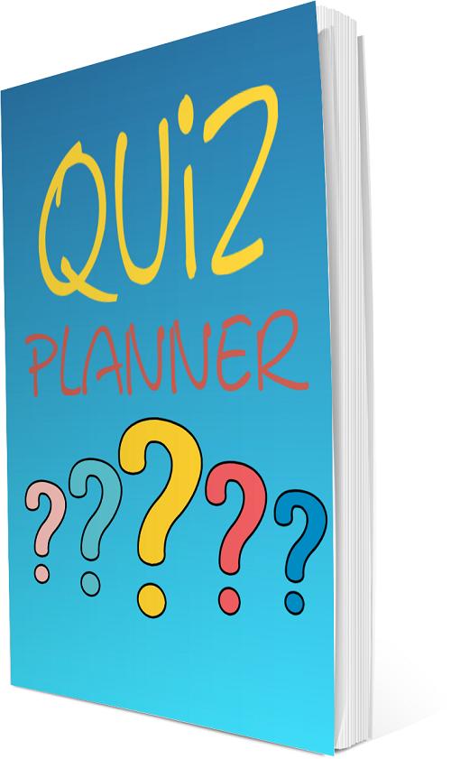 quiz planner - make money PLR