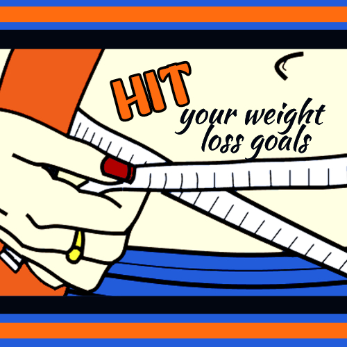 weight loss goals plr image